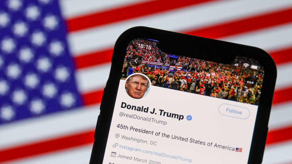 Does Searching for 'Loser on Twitter Return Trumps Account