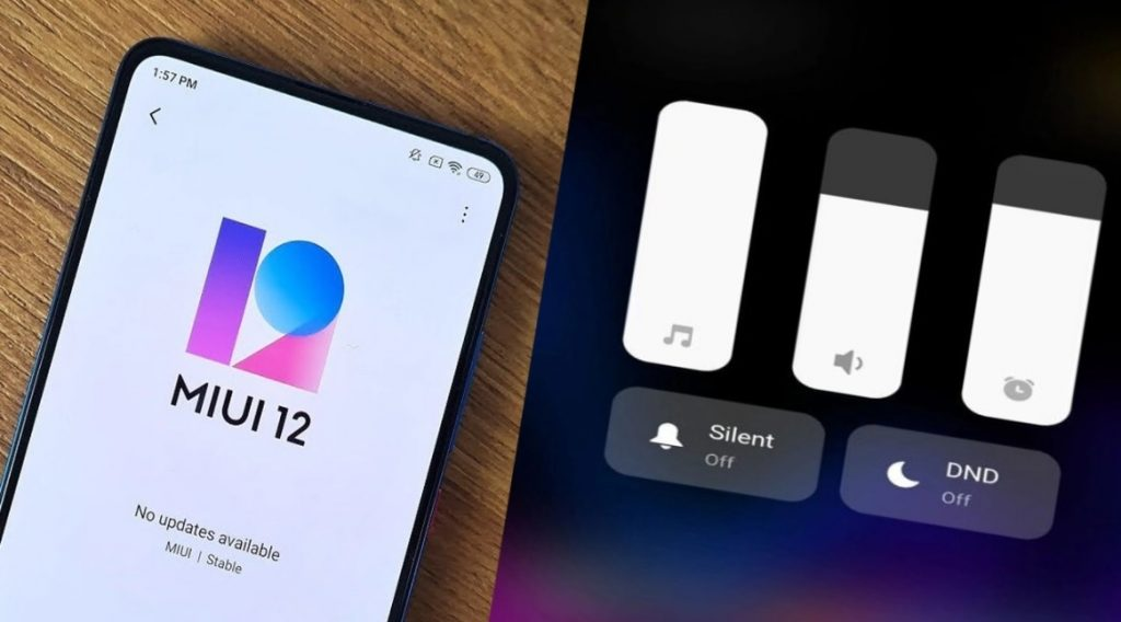 MIUI 12 menu designs are changing Here are the new versions