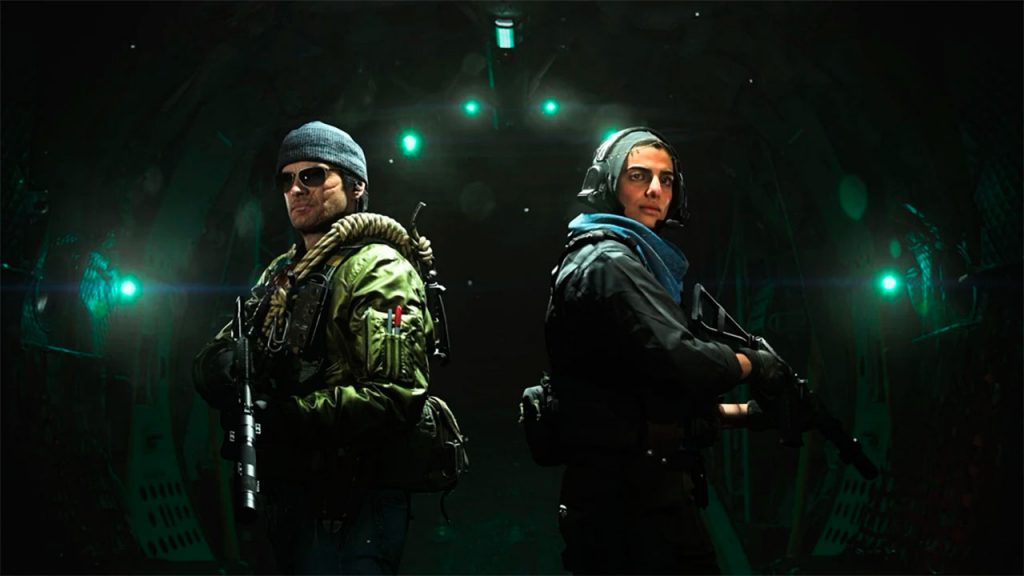 Modern Warfare and Black Ops Cold War merge into Warzone 1