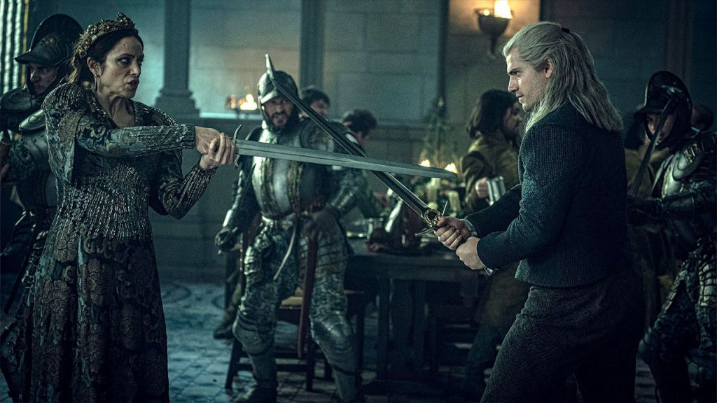Negative development from season 2 of The Witcher