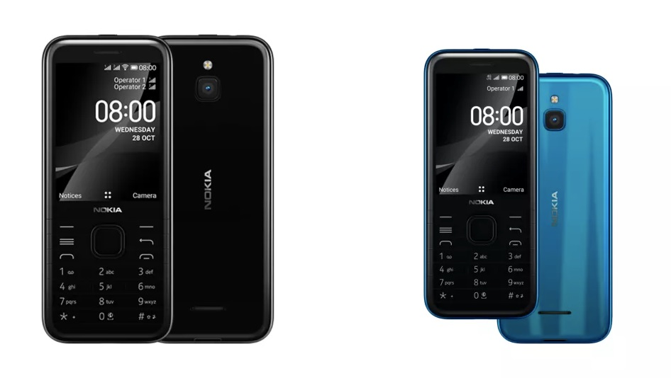 Nokia 8000 4G and Nokia 6300 4G features and price 1