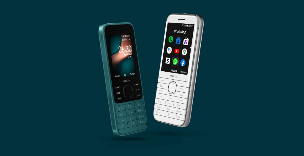 Nokia 8000 4G and Nokia 6300 4G features and price