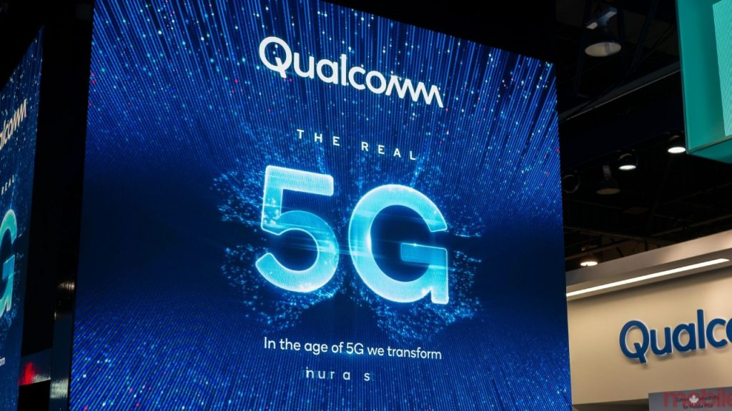 Qualcomm is on the agenda with its 5G speed record