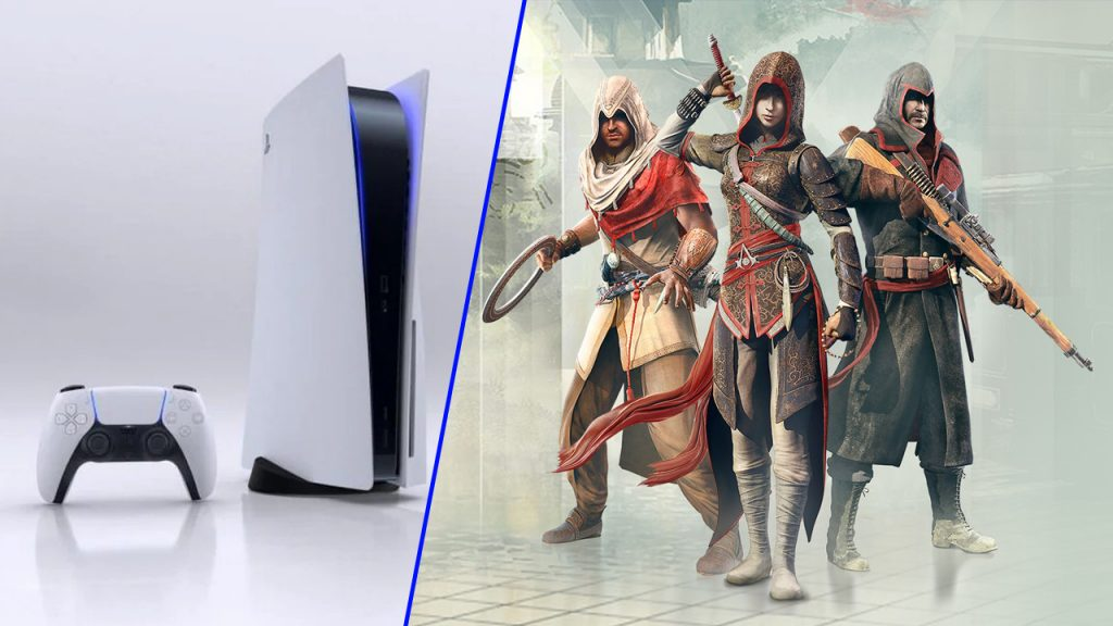 Some Assassins Creed games will not work on PS5