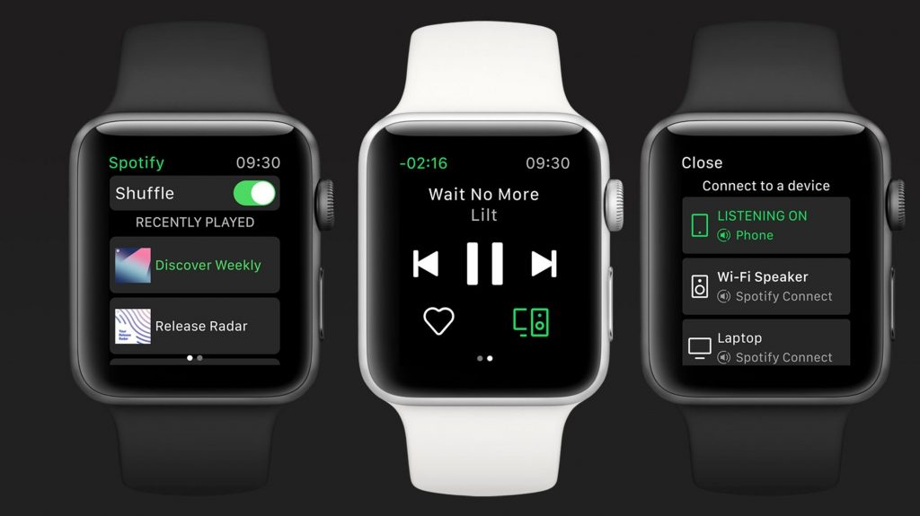 Spotify streaming support for Apple Watch 1