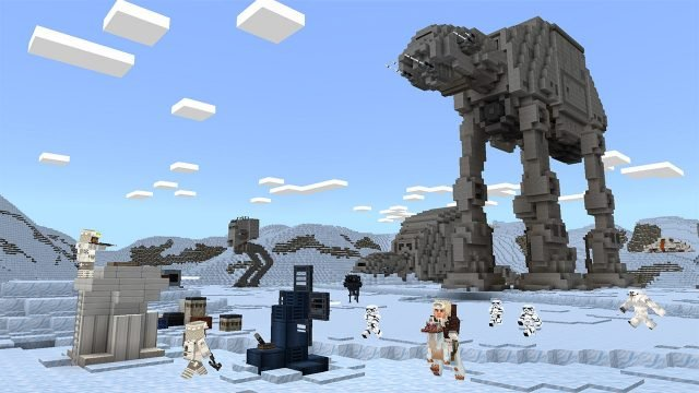 Star Wars Themed DLC for Minecraft Arrives