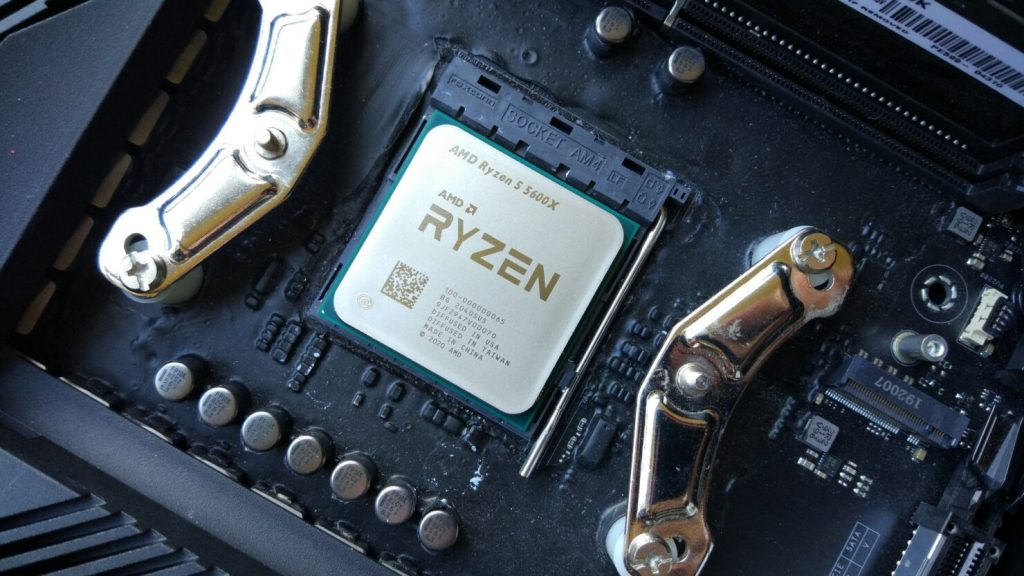 Test results with AMD 5600X overclock have appeared