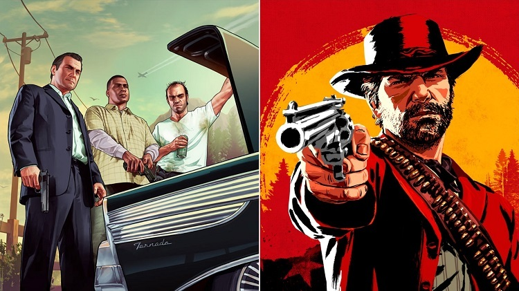 Total sales figures of GTA 5 and Red Dead Redemption 2 announced