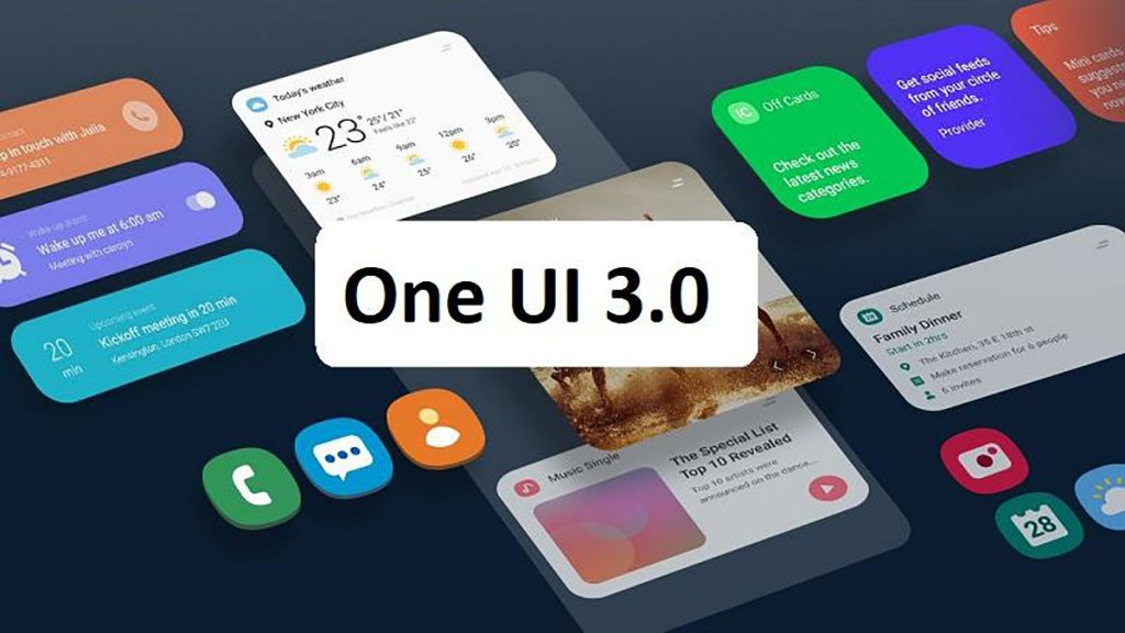 When will the One UI 3 UI update be released 1
