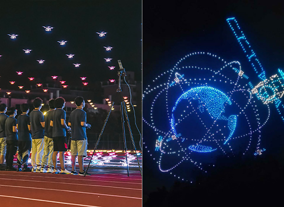 Worlds Largest Drone Display Consisted of 3051 Unmanned Aerial Vehicles