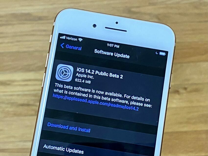 iOS 14.2 update is out Open to everyone1