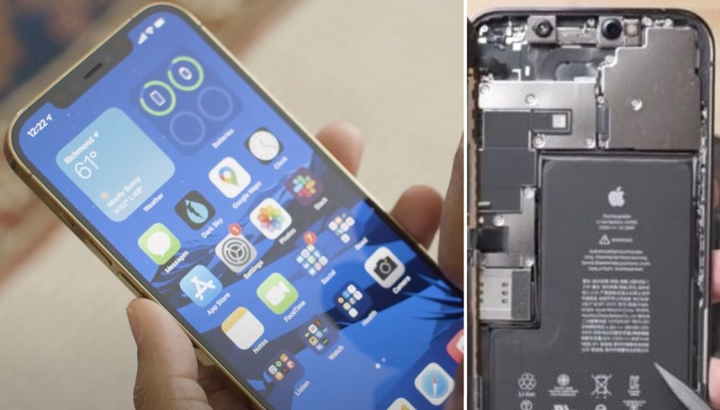 iPhone 12 Pro Max dismantled