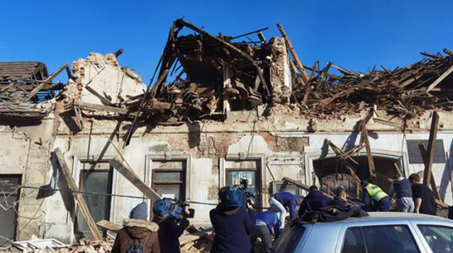6.3 magnitude earthquake in Croatia Many buildings were destroyed 5