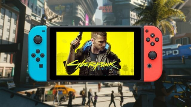 Cyberpunk 2077 can be played with Stadia on Nintendo Switch