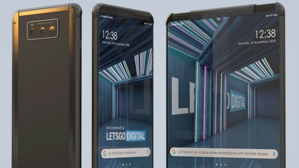 Details come one by one foldable phone from LG