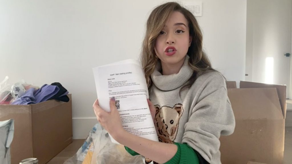 Famous Twitch Streamer Pokimanes Follower Sends Boyfriend CV to Streamer