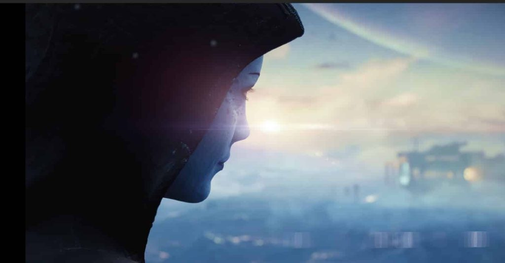 Official trailer of the new Mass Effect game released