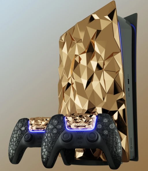PlayStation 5 produced with 20 KG gold is on the way 1