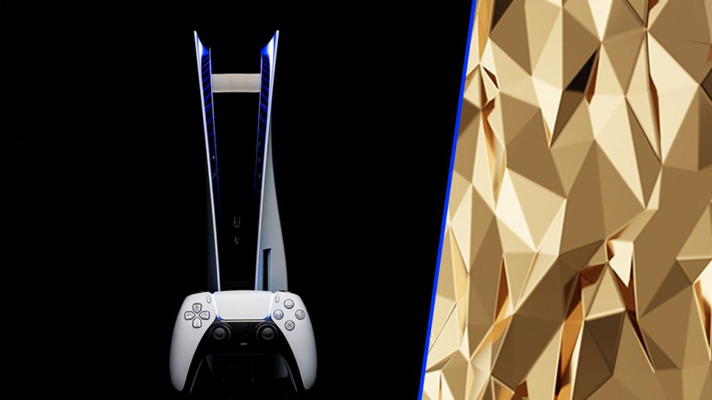 PlayStation 5 produced with 20 KG gold is on the way