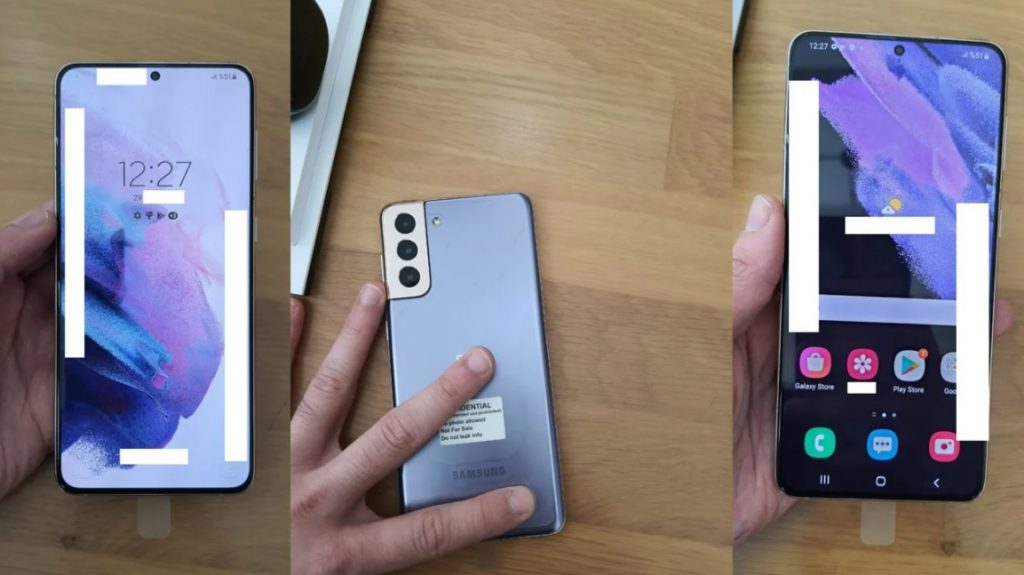 Samsung Galaxy S21 Displayed With New Design