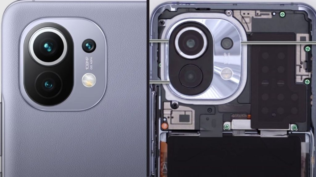 The newly introduced Xiaomi Mi breaks into 11 pieces