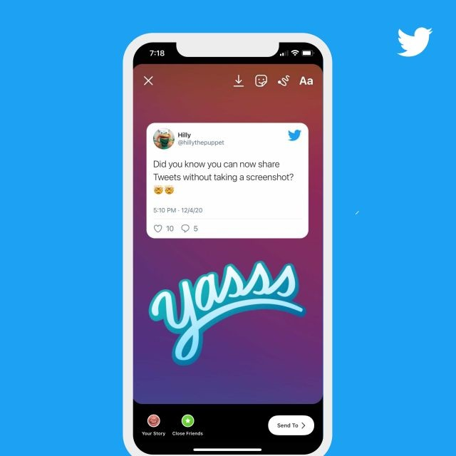 Twitter gets involved in Instagram stories 1