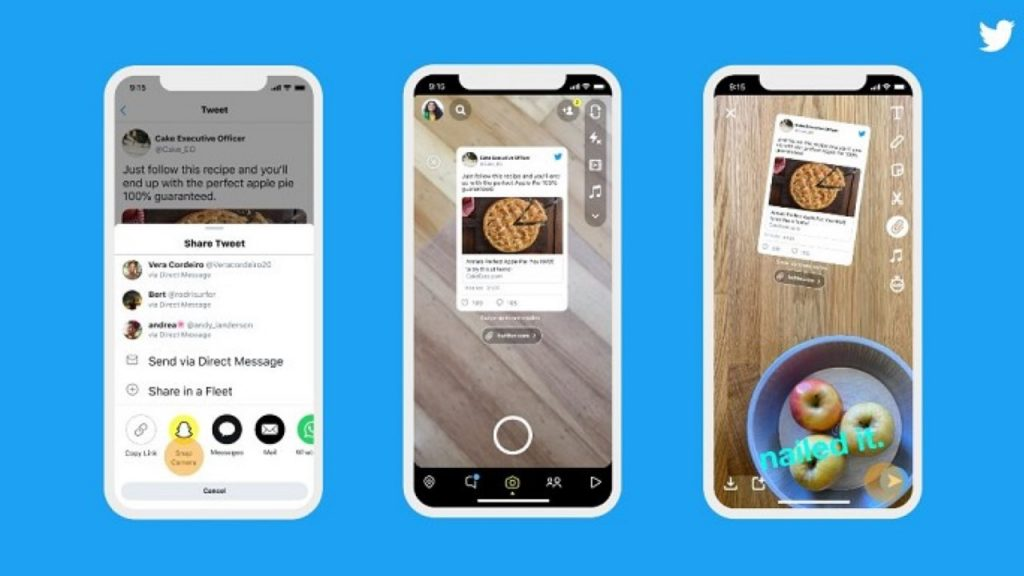 Twitter gets involved in Instagram stories