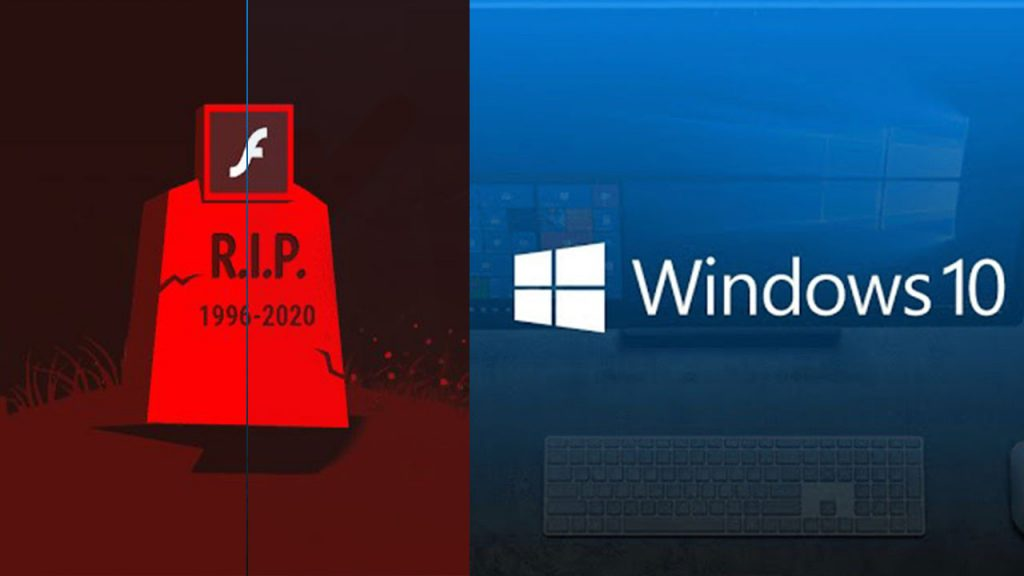 Windows 10 is on the agenda with Adobe Flash warning