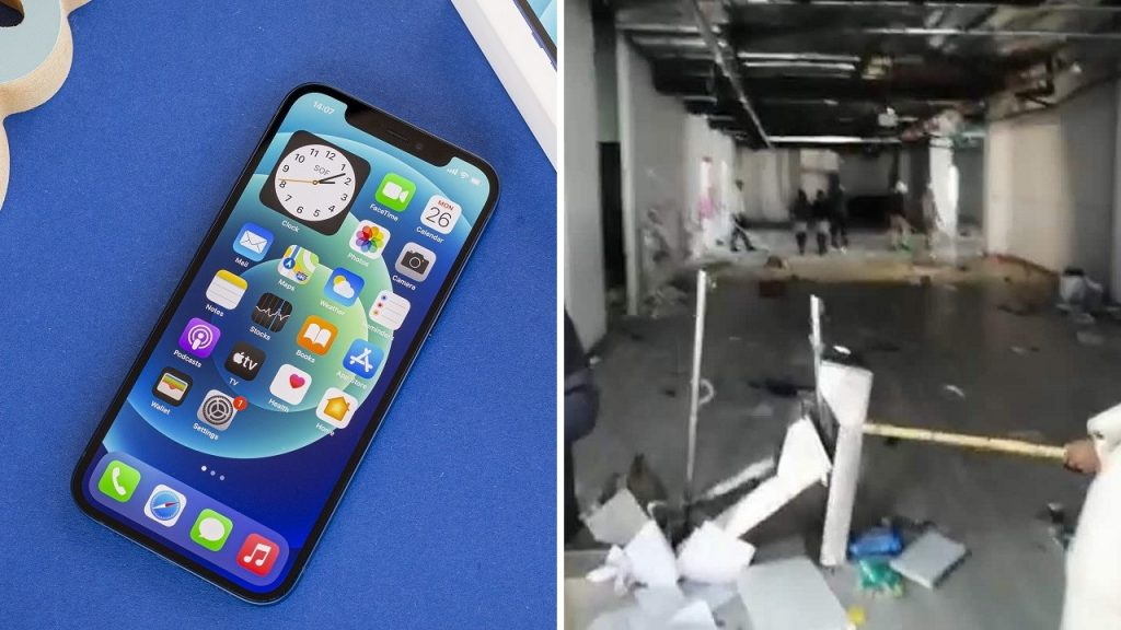 Workers at the iPhone factory rebelled