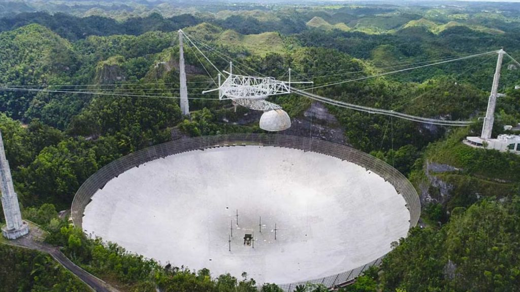 A New Telescope to be Built at Arecibo Observatory which Crashed Last Month 1