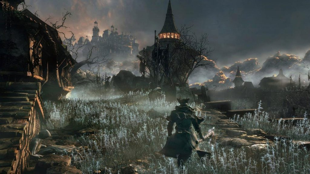 Bloodborne is being redesigned as a PS1 game