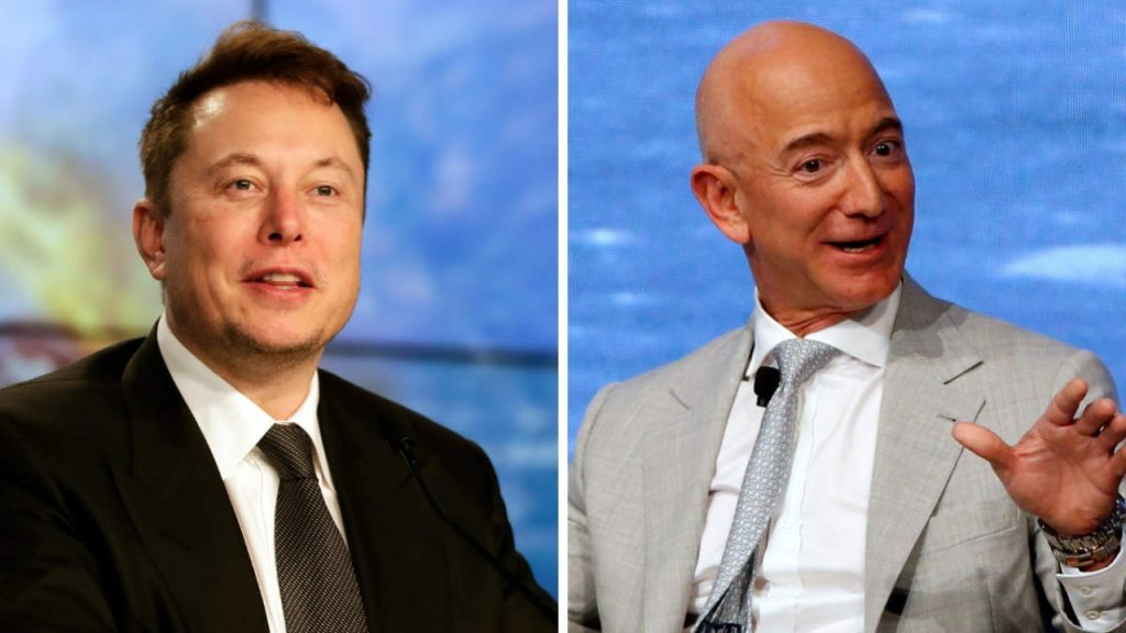 Elon Musk is too close to cross Jeff Bezos