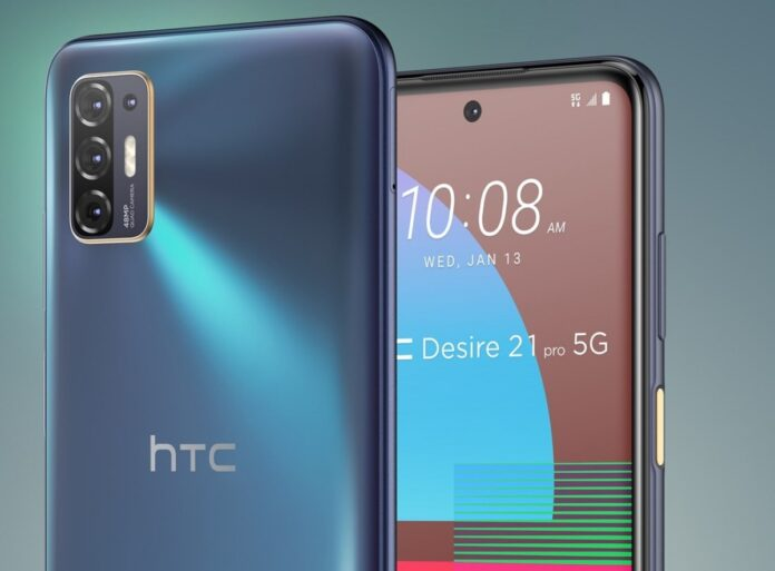 HTC Desire 21 Pro 5G introduced Here are the features