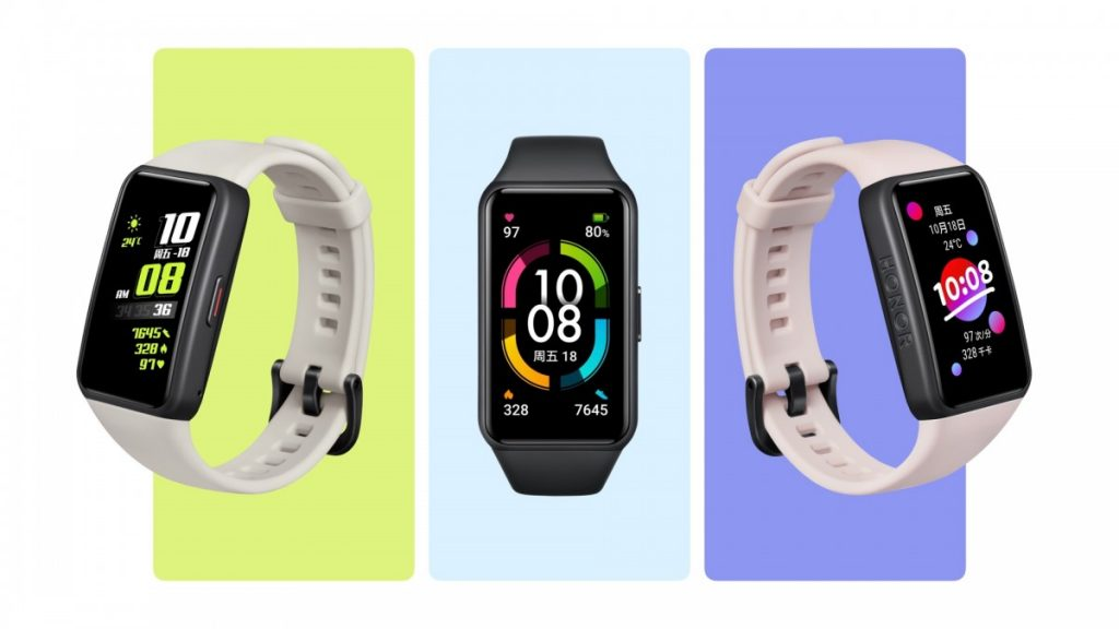 Honor Band 6 made its debut at CES 1
