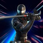 Iconic G.I. Joe Character Snake Eyes Costume Arrived in Fortnite
