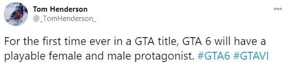 She Will Be A Playable Female Character In GTA 6 According To A Reliable Source 1