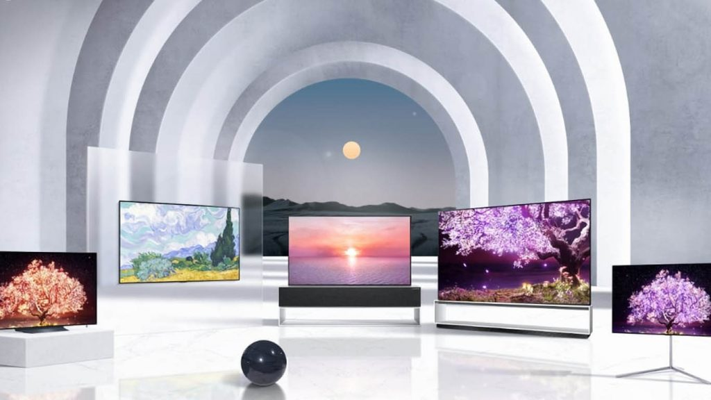 TV with FreeSync and G Sync support from LG