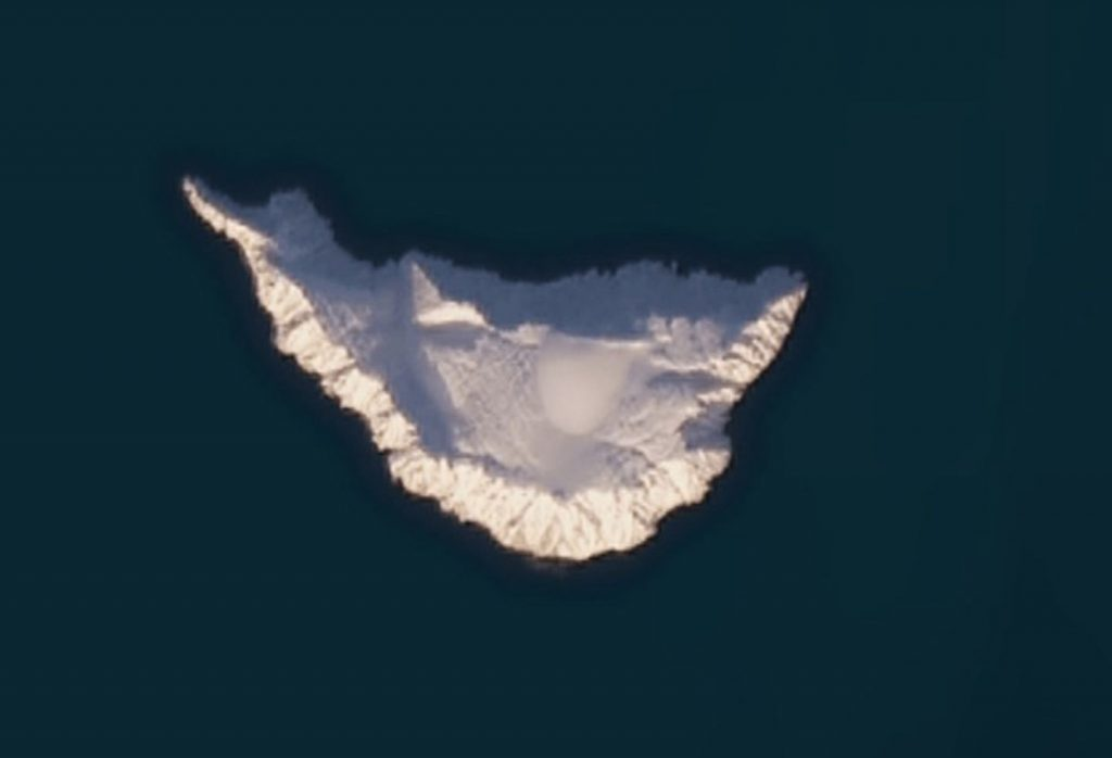 The Interesting Story of the Russian Island That Google Hides as a Black Dot on its Maps 1