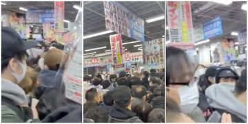 The PS5 is back on sale in Japan Despite Covid 19 there was a stampede inside the market