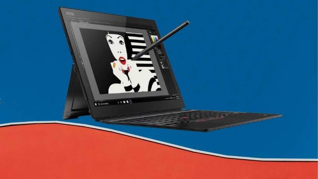 ThinkPad X12 both tablet and laptop from Lenovo