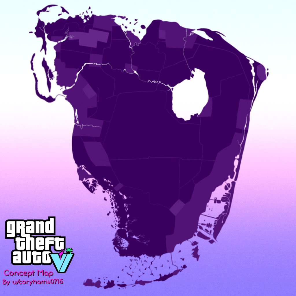 What Does GTA 6 Look Like If It Passes in Vice City 1