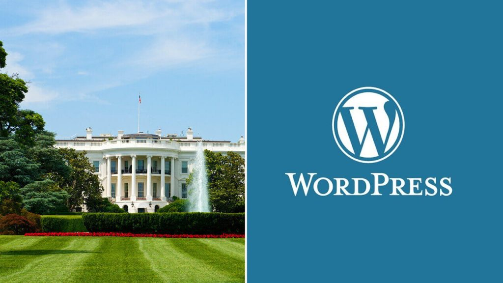White House decision to continue for WordPress