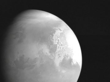 China took its first Mars photo