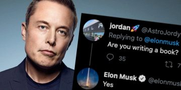 Elon Musk to write story of Tesla and SpaceX