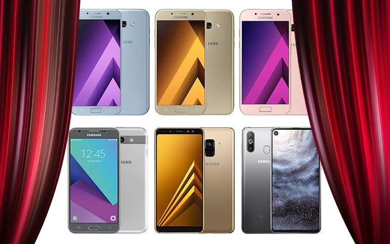 End of the road for the four models in the Galaxy A series 1