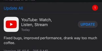 New YouTube update released for iOS
