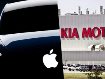 Surprise collaboration with Kia Motors for Apple Car