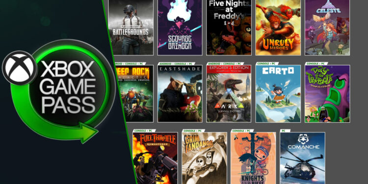 22 new games coming to xbox game pass library
