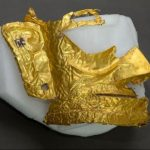 3000 year old gold mask found