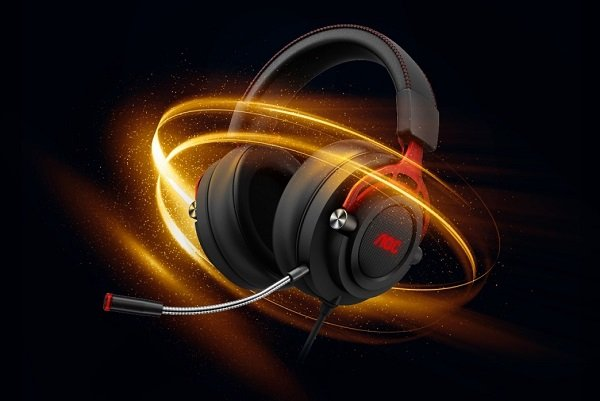 AOC Announces GH200 and GH300 Gaming Headsets